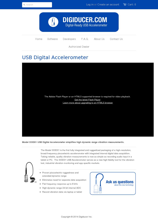 Owler Reports - Press Release: Digiducer : USB Digital