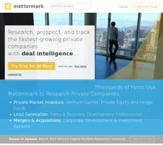 Mattermark website history