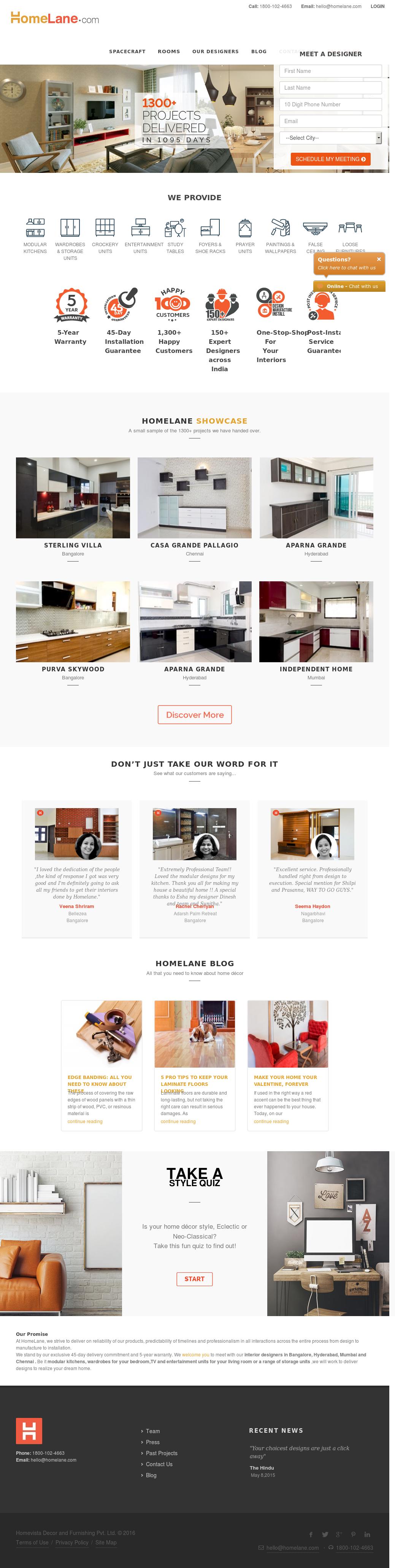 HomeLane Competitors, Revenue and Employees - Owler Company Profile