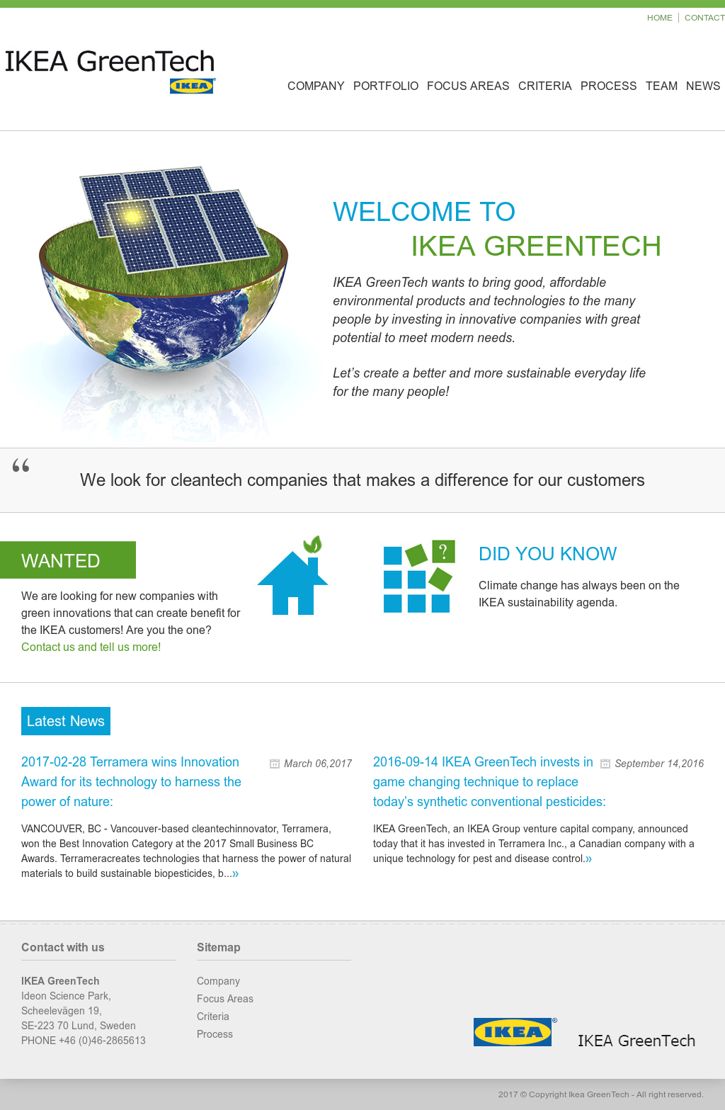 Ikea greentech competitors revenue and employees owler for Ikea driving directions