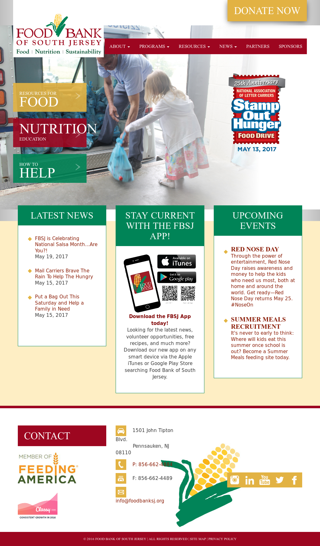 Food Bank of South Jersey Competitors, Revenue and Employees