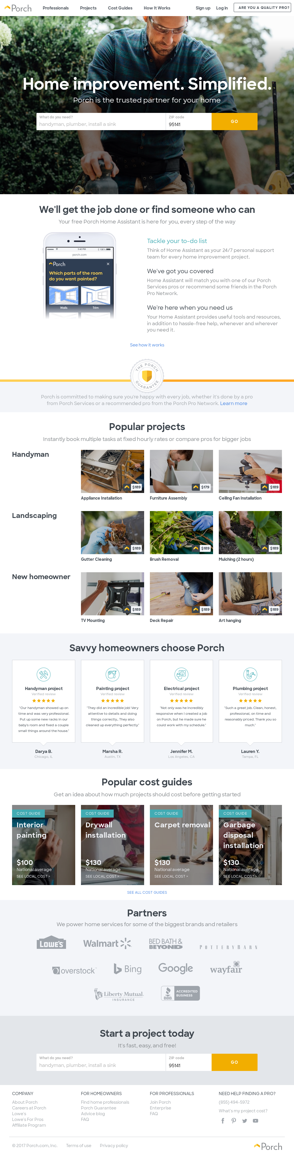 Porch Competitors, Revenue and Employees - Owler Company Profile