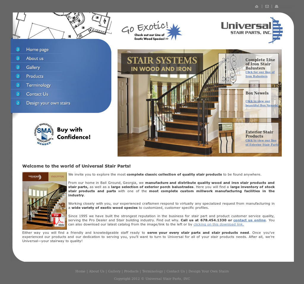 Universal Stair Parts Competitors, Revenue And Employees   Owler Company  Profile