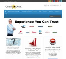 Charter Capital website history