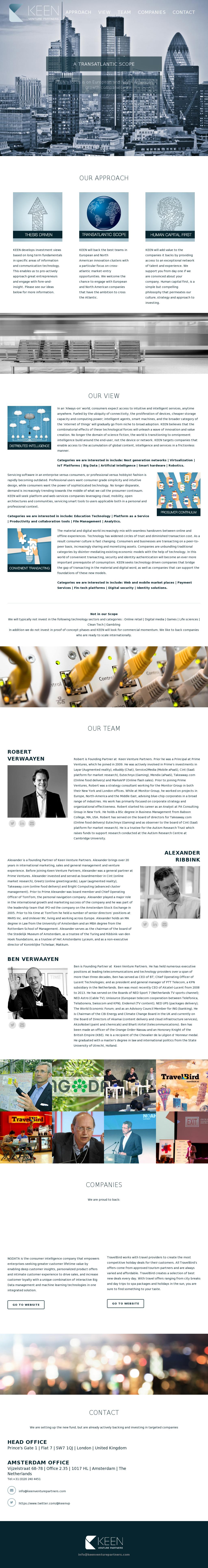 01e78e0ed0 Keen Venture Partners | Competitors, Revenue and Employees - Owler Company  Profile