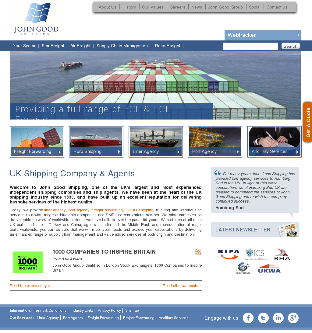 John Good Shipping Competitors, Revenue and Employees