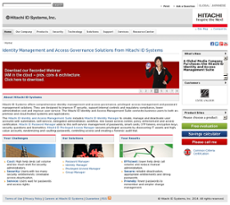 Hitachi ID Systems website history