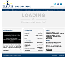 Elijah website history
