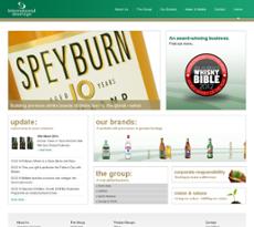 International Beverage website history