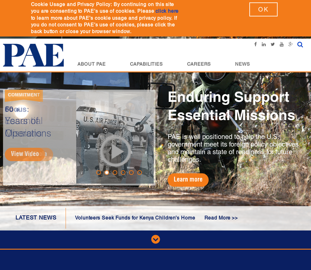 PAE Competitors, Revenue and Employees - Owler Company Profile
