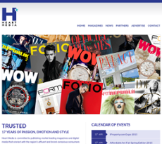 Heart Media website history