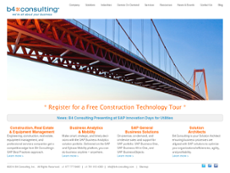 b4 Consulting website history