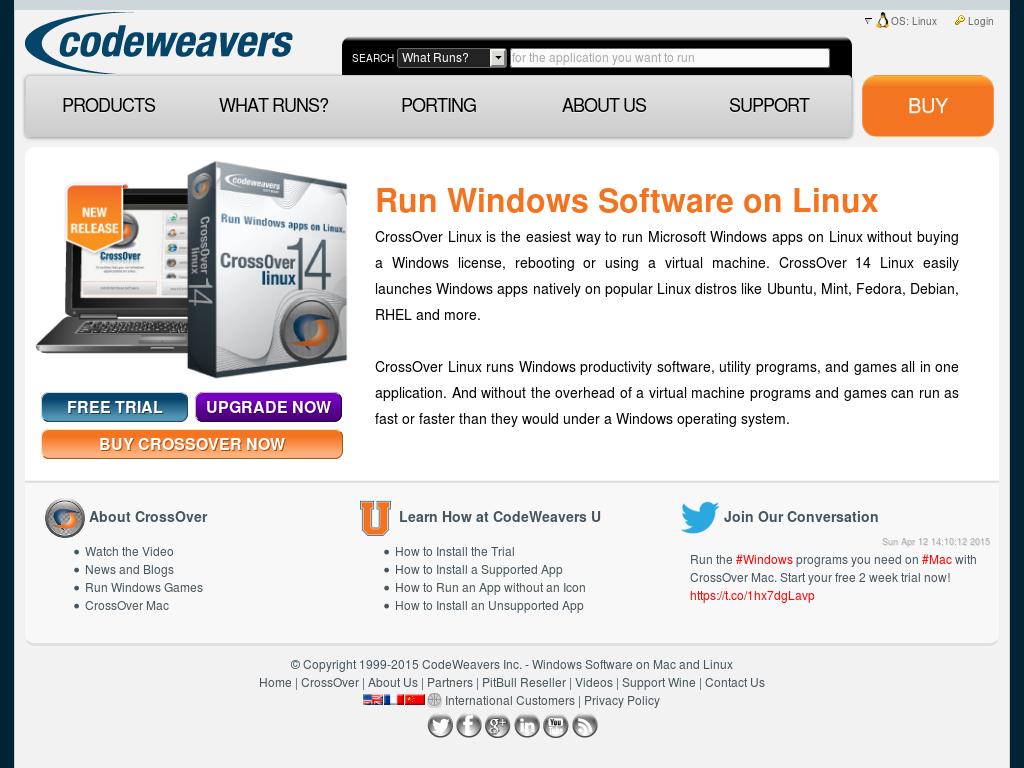 Owler Reports - CodeWeavers: CrossOver Linux Update Brings