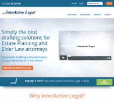 Interactive Legal website history