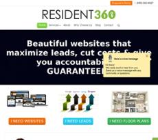 Resident360 website history