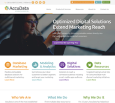 AccuData Integrated Marketing website history