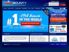 MaxBounty website history