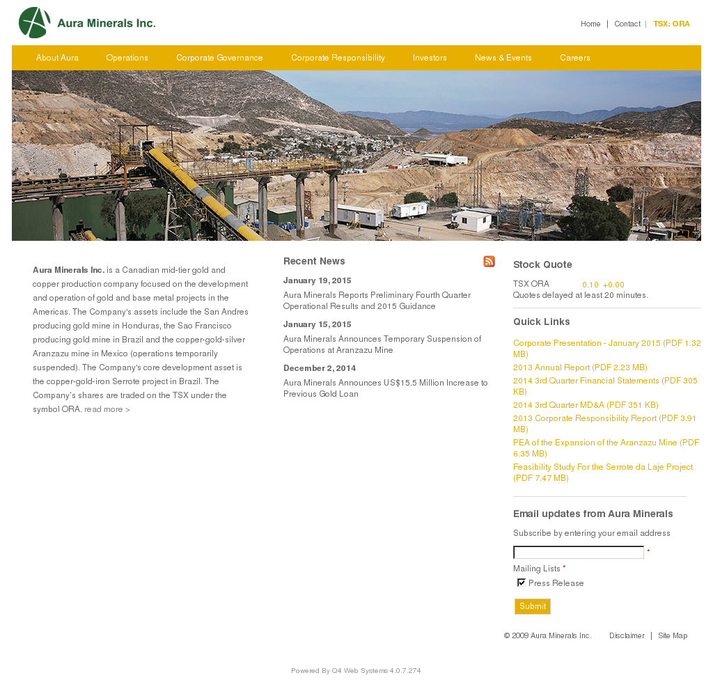 Aura Minerals Competitors, Revenue and Employees - Owler Company Profile