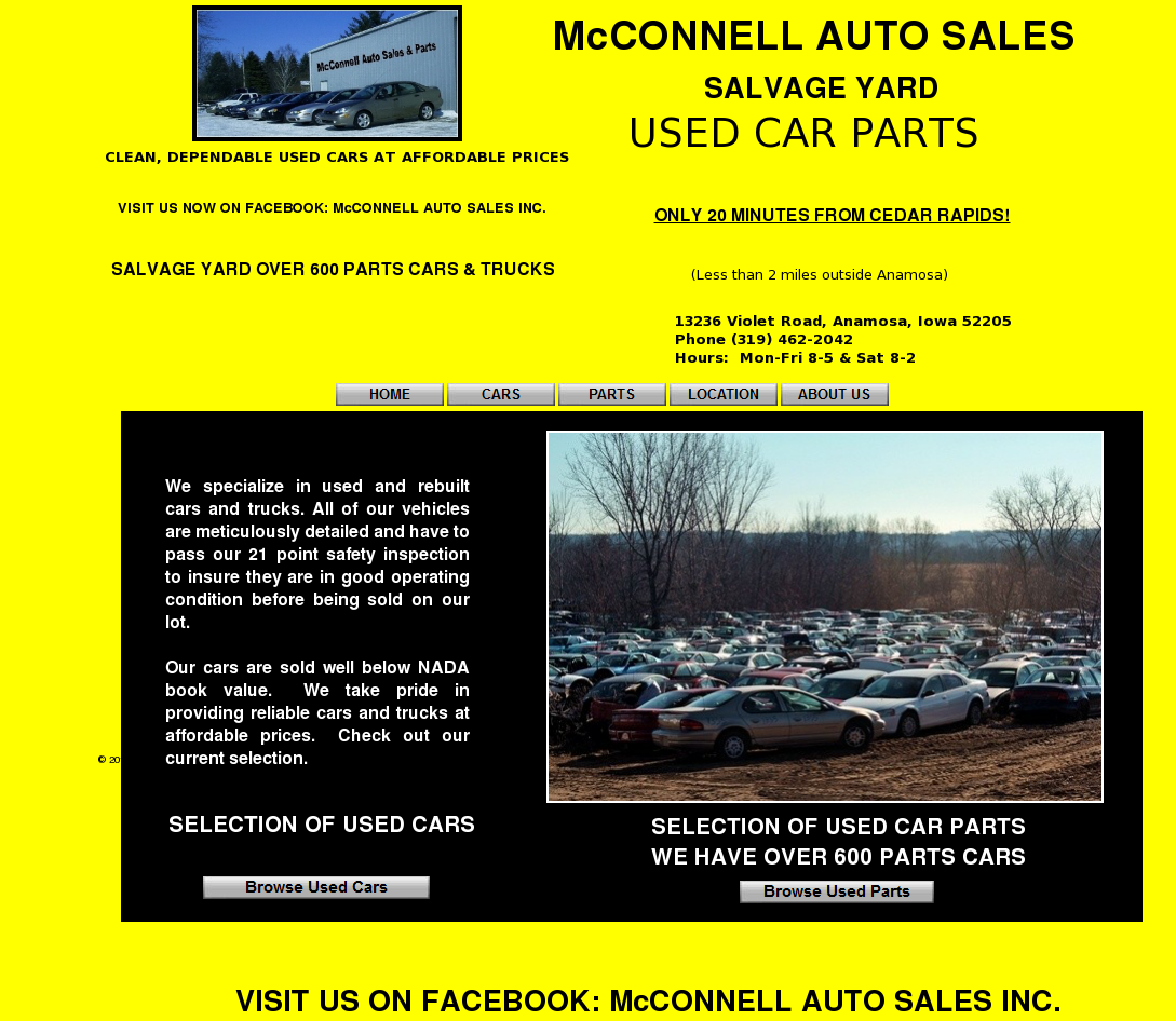Mcconnell Auto Sales Competitors Revenue And Employees Owler