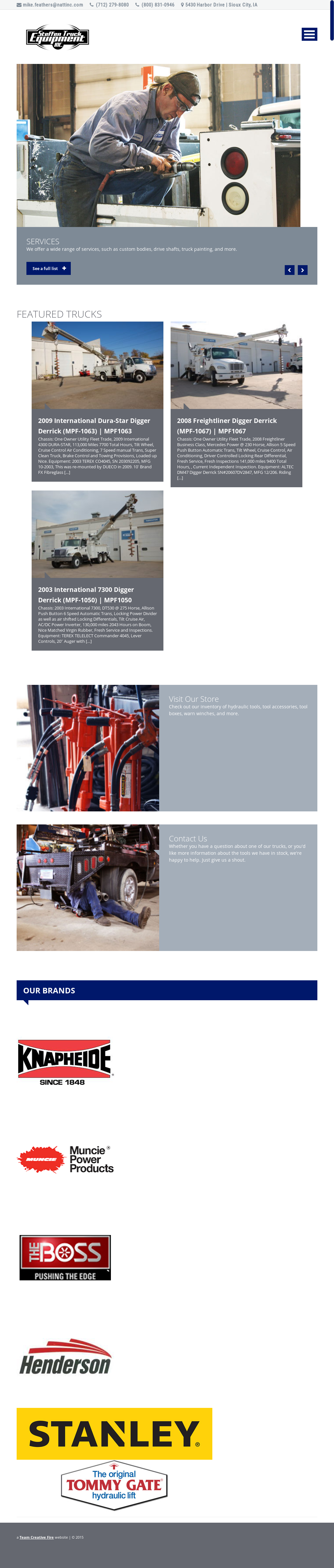 Steffen Truck Equipment Competitors, Revenue and Employees