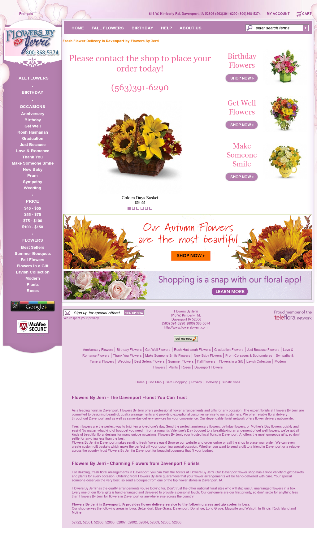 Flowers by jerri competitors revenue and employees owler company flowers by jerri website history izmirmasajfo
