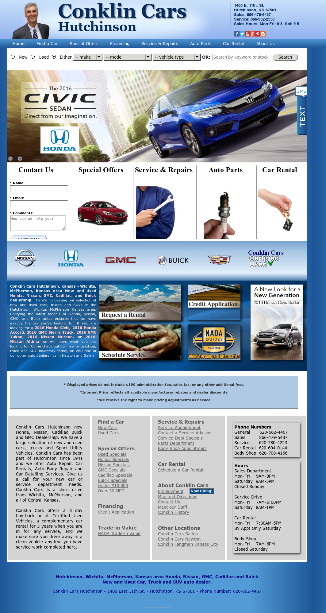 Car Dealerships In Hutchinson Ks >> Conklin Cars Hutchinson Competitors Revenue And Employees