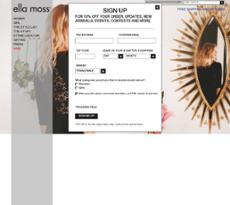 Ella Moss website history