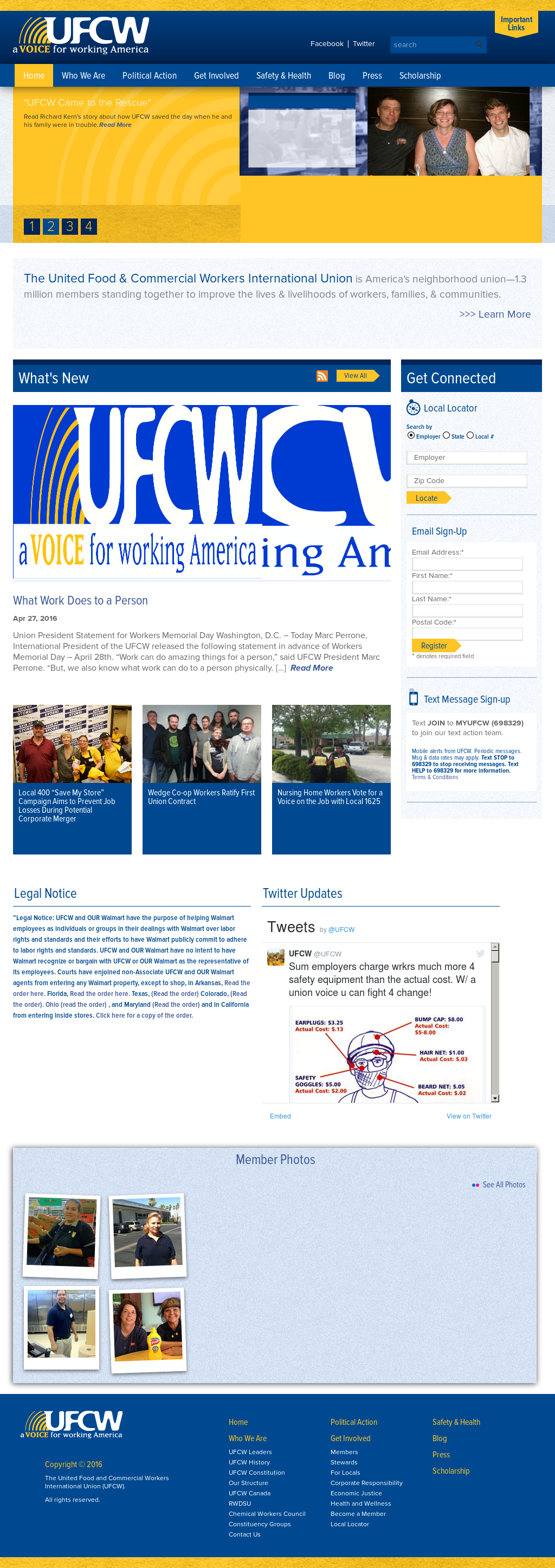 UFCW Competitors, Revenue and Employees - Owler Company Profile