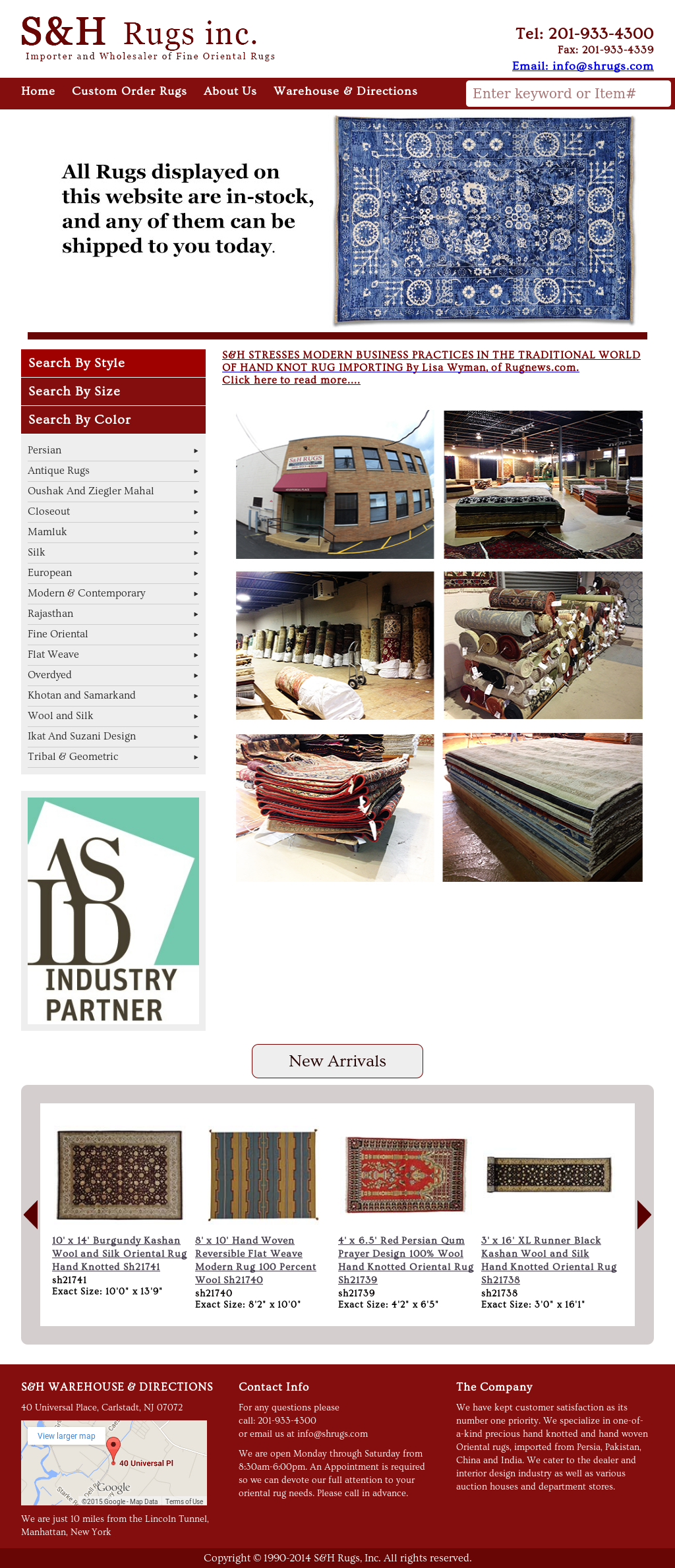 S&H Rugs Competitors, Revenue and Employees - Owler Company Profile