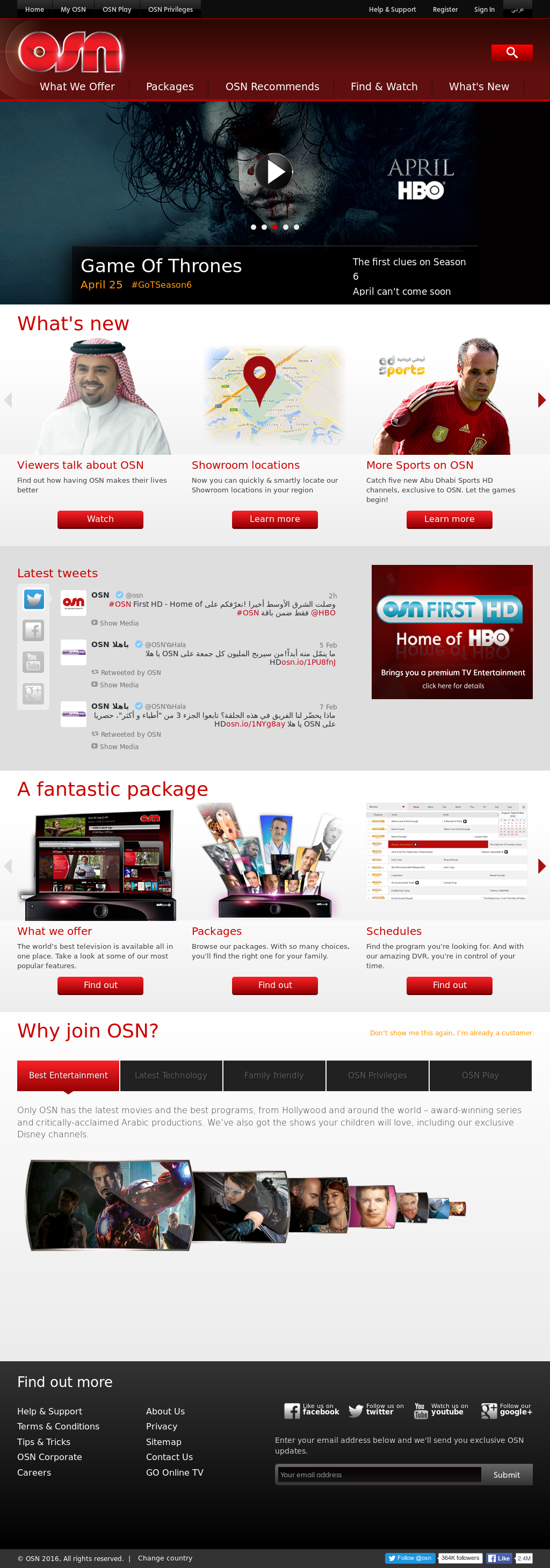 OSN Competitors, Revenue and Employees - Owler Company Profile