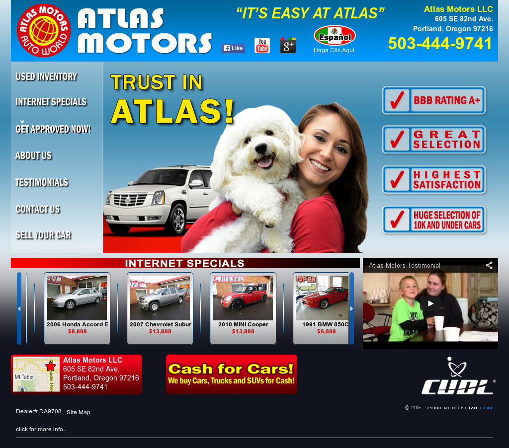 Atlas Motors Llc