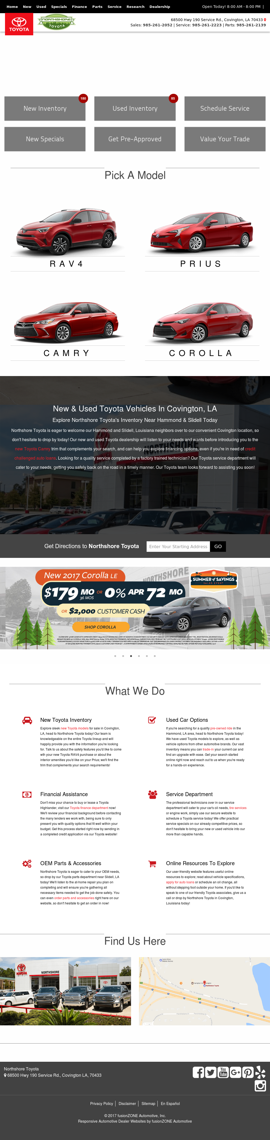 Northshore Toyota petitors Revenue and Employees Owler pany