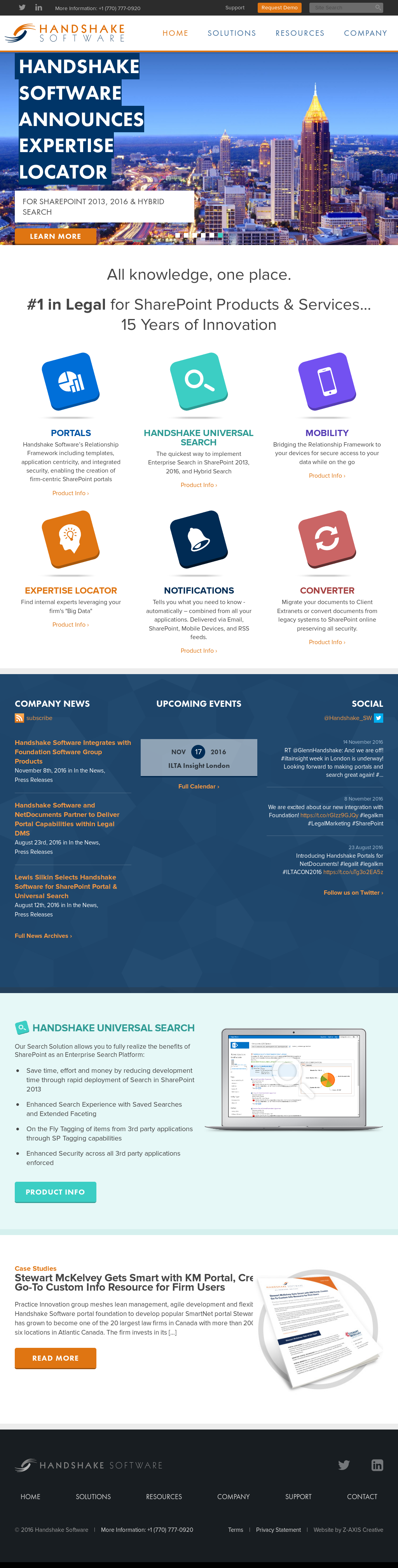 Handshake Software Competitors, Revenue and Employees