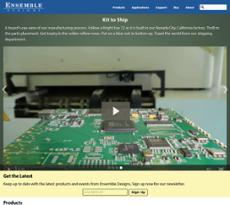 Ensemble Designs website history