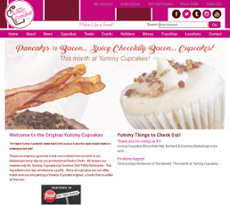 Yummy Cupcakes website history