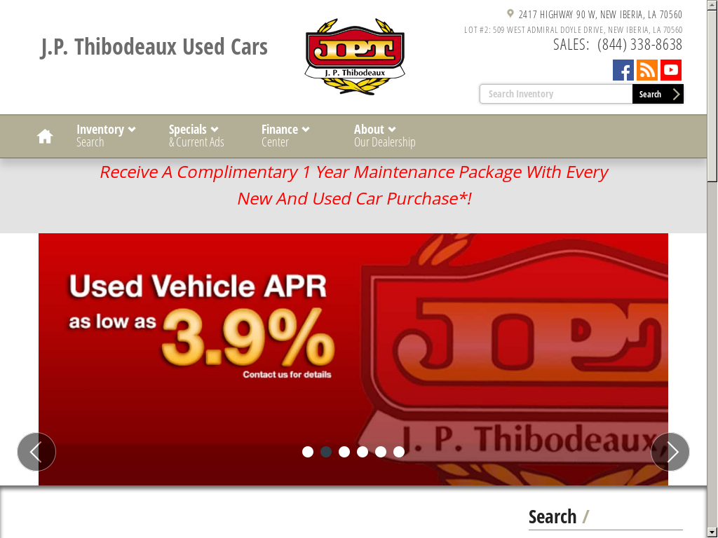Jp Thibodeaux Used >> J P Thibodeaux Used Cars Competitors Revenue And Employees