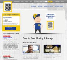 Door to Door website history
