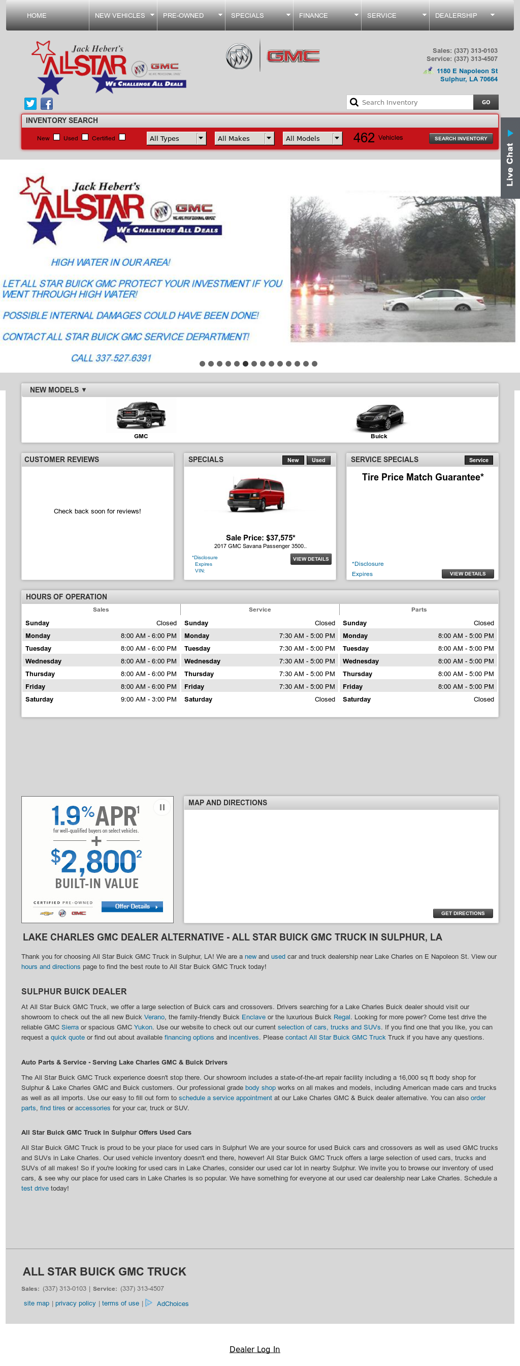 Star Buick Gmc >> All Star Buick Gmc Truck Competitors Revenue And Employees