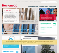 Hovione website history