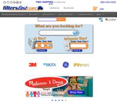 Filter Fast website history