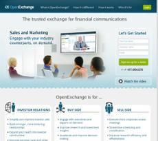 OpenExchange website history