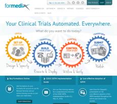Formedix website history