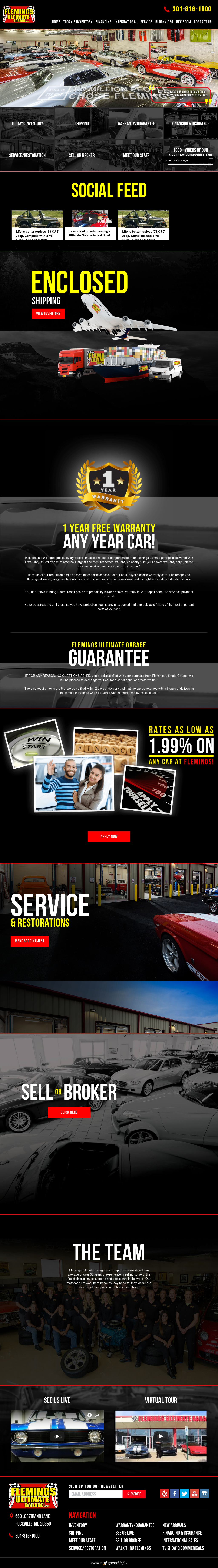 Fleming\'s Ultimate Garage Competitors, Revenue and Employees - Owler ...