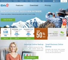 IDrive website history