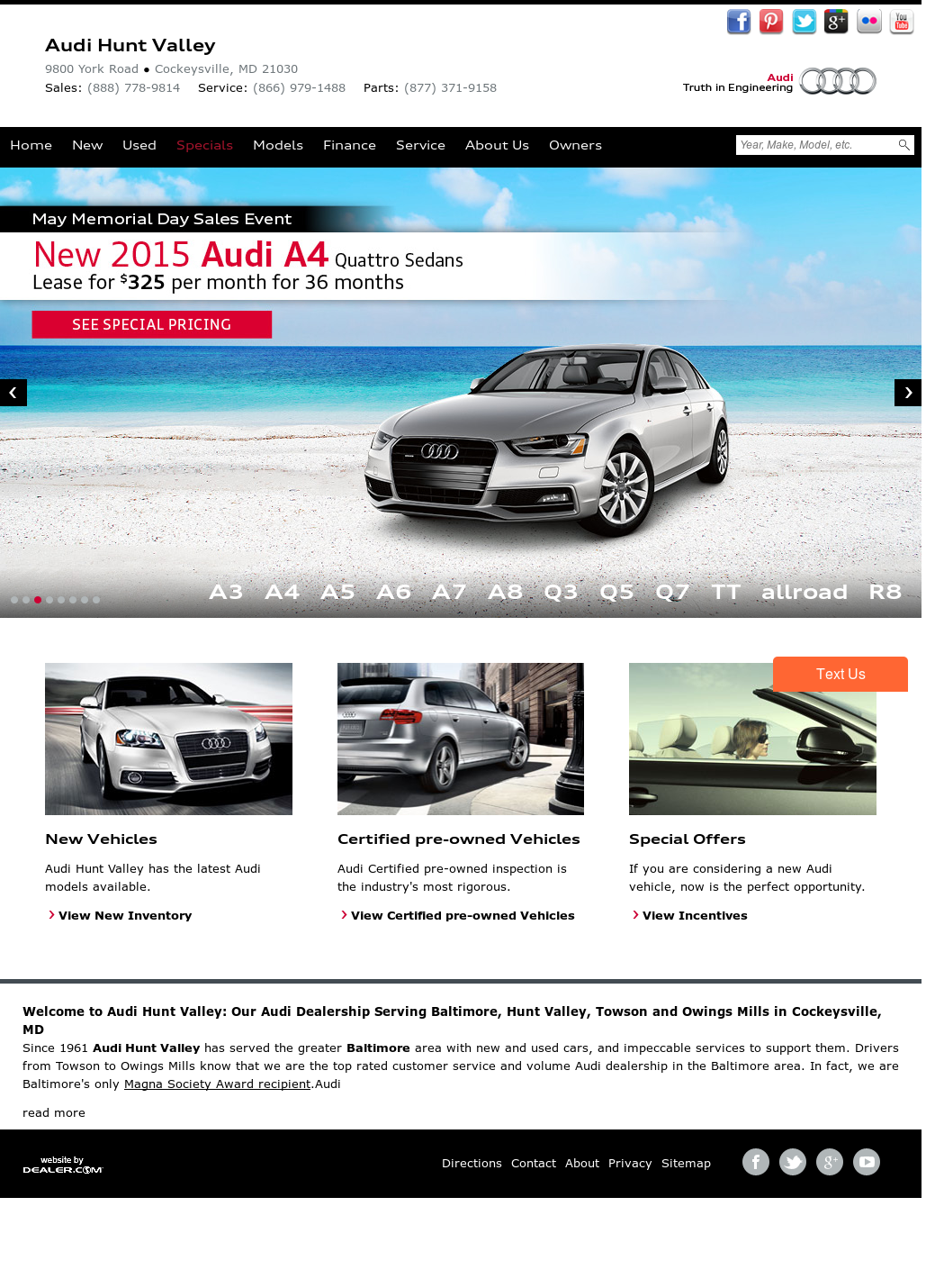 Audi Hunt Valley Competitors Revenue And Employees Owler Company - Audi hunt valley