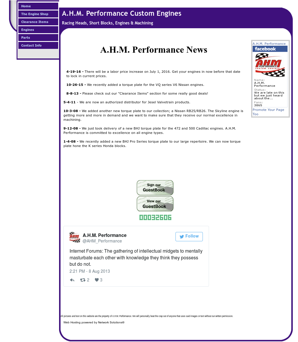 Ahmperformance Competitors, Revenue and Employees - Owler