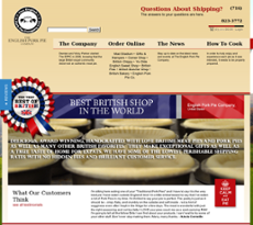 The English Pork Pie Company website history