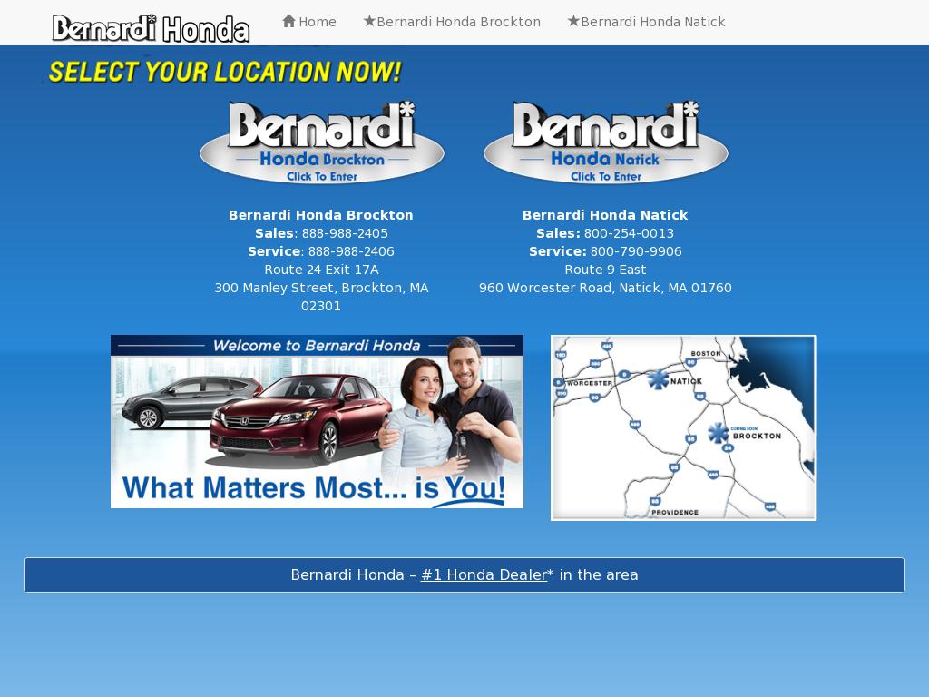 Bernardi Honda Competitors, Revenue And Employees   Owler Company Profile