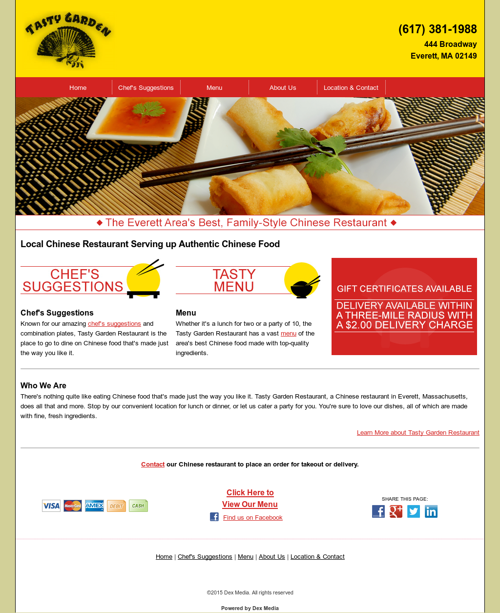 tasty garden restaurant competitors revenue and employees owler company profile - Tasty Garden Menu
