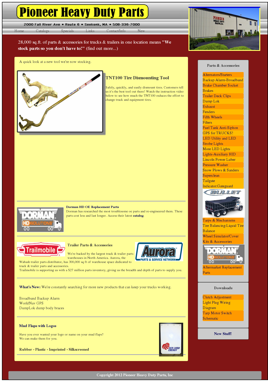 Pioneer Heavy Duty Parts Competitors Revenue And Employees Owler Trailer Wiring Diagram Company Profile